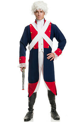 Independence Day Revolutionary War Soldier Adult Costume (Revolutionary War Costumes)