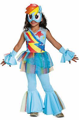 Brand New My Little Pony Rainbow Dash Movie Deluxe Toddler/Child Costume - My Little Pony Rainbow Dash Costume Child