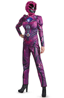 2017 Pink Power Ranger Deluxe Adult Costume - Power Ranger Costumes Pink