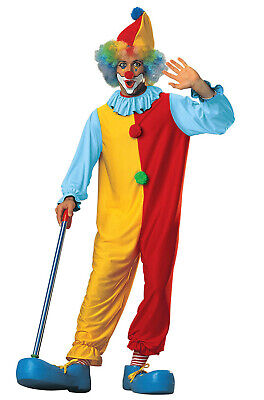 Circus Clown Costume (Brand New Classic Funny Circus Clown Adult Halloween)