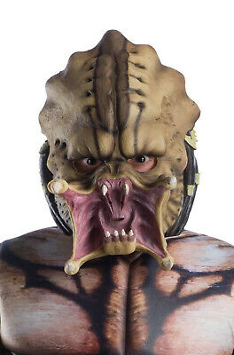 Make Predator Mask (Brand New The Predator Movie 3/4 Child Mask )