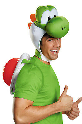 Brand New Super Mario Brothers Yoshi Adult Costume Kit
