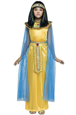 Golden Cleo Egyptian Cleopatra Child Costume](Egyptian Kids Costumes)