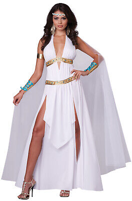 Brand New Glorious Goddess Toga Greek Roman Women Adult Costume](Roman Goddess)