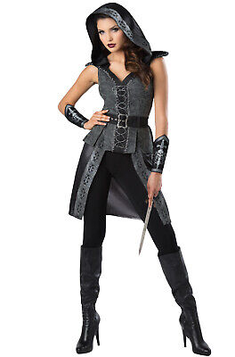 Dark Woods Huntress Renaissance Adult Costume - Huntress Costume