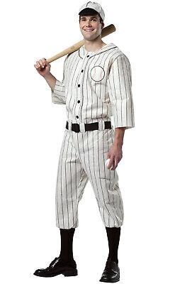 Vintage Baseball Player Costume (Brand New Old Tyme Vintage Baseball Player Uniform Adult)