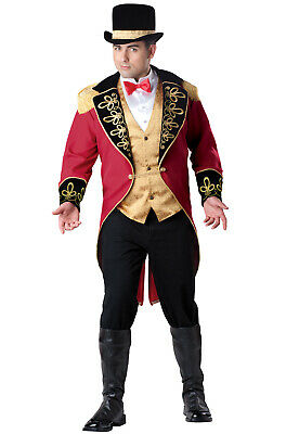 Great Ringmaster Greatest Showman Inspired Circus Plus Size Costume