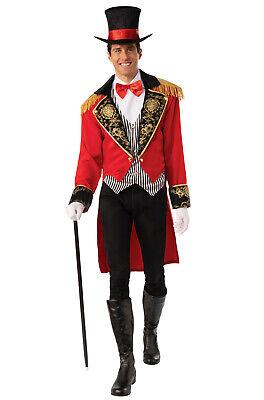 Adult Ringmaster Costume (Circus Man Ringmaster Greatest Showman Inspired Adult)