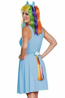 My Little Pony Rainbow Dash Clip on Tail for Adults Teens Kids by Disguise 14