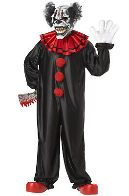 Last Laugh The Clown Costume (Brand New Last Laugh The Circus Psycho Clown Adult)