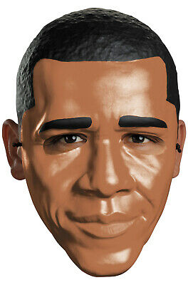 President Obama Vacuform Adult Half Mask](Presidents Mask)