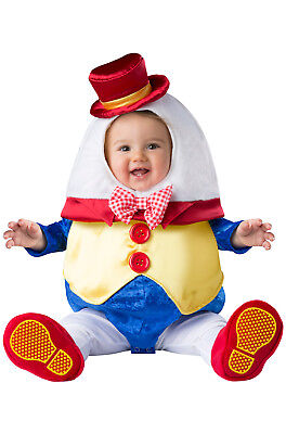 Deluxe Humpty Dumpty Child Infant Baby Costume NEW - Humpty Dumpty Costume Baby
