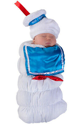Baby Stay Puft (Ghostbusters Stay Puft Swaddle Baby Infant)