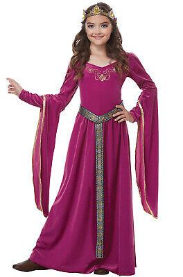 Blushing Renaissance Medieval Princess Girls Child Costume