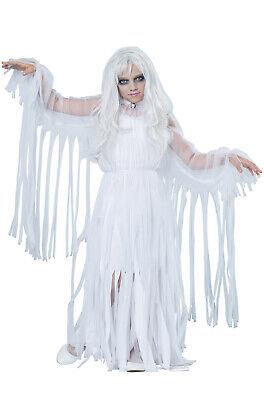 Brand New Haunting Ghostly Girl Haunted Spirit Dress Child - Ghostly Girl Kostüm