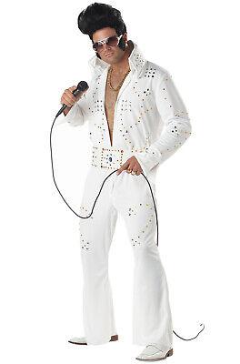 Adult Men Elvis Rock Legend Las Vegas Halloween - Elvis Legend Kostüm