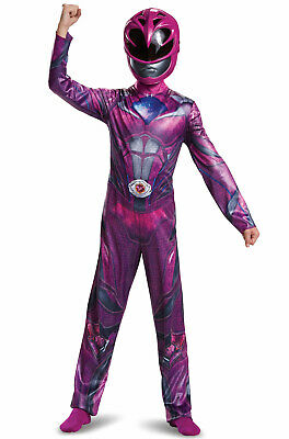 Baby Pink Power Ranger Costume (Brand New 2017 Pink Power Ranger Classic Child)