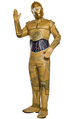 3po Costume (Brand New Star Wars C-3PO Adult)
