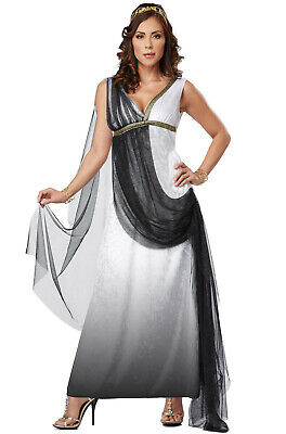 Brand New Toga Deluxe Roman Empress Greek Goddess Venus Women Adult Costume