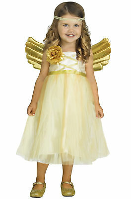 New My Angel Baby Halloween Costume 24 Months 2T Gold - Angel Infant Costume