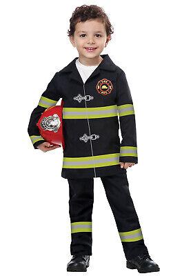 Jr. Fire Chief Firefighter Toddler Costume](Jr Firefighter Costume)