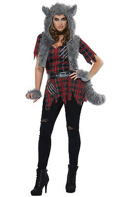 She-Wolf Werewolf Scary Adult Costume
