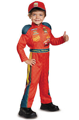 Disney's Cars Lightning McQueen Classic Toddler Costume](Cars Mcqueen Costume)