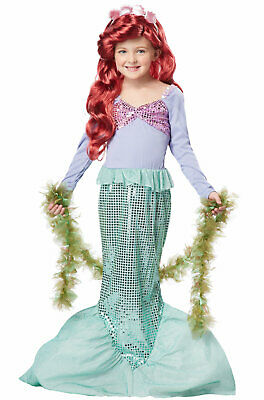 Brand New Little Mermaid Ariel Sea Princess Dress Up Child Halloween Costume](Mermaid Halloween Costume Baby)