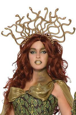 Medusa Snake Headpiece (Gold Medusa Snake Headpiece Headband Costume)