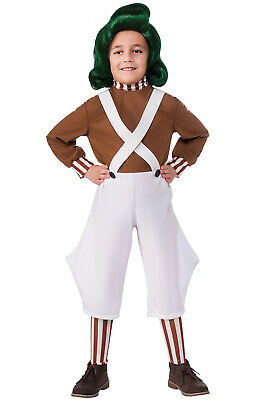 Charlie And Chocolate Factory Costume (Charlie And The Chocolate Factory Oompa Loompa Child)