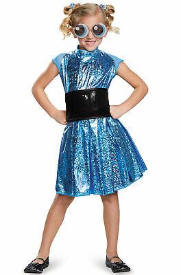 Brand New Powerpuff Girls Bubbles Deluxe Child Costume](Bubbles Powerpuff Girl Costume)