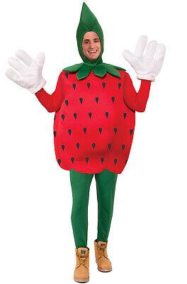 Fruit Snack Halloween Costume (Brand New Strawberry Fruit Snack Adult)