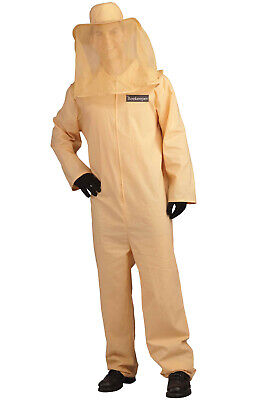 Beekeeper Outfit Halloween (Insect Bee Keeper Jumpsuit Outfit Adult)