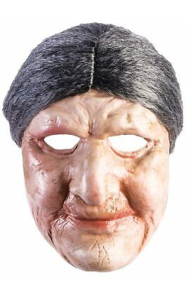 Old Lady Mask (Brand New Old Lady Grandma Adult)