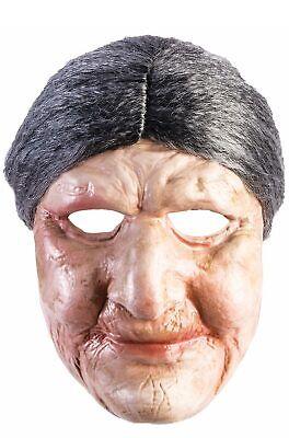 Brand New Old Lady Grandma Adult Mask