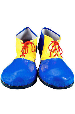 Brand New Circus Funny Clown Child Shoes (Blue) - Kids Clown Shoes