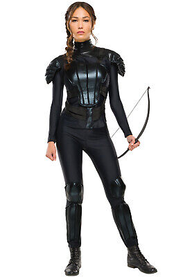 Brand New Hunger Games Katniss Rebel Deluxe Adult - Costumes Hunger Games