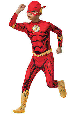 DC Comics Superhero The Flash Child Costume - Cheap Childrens Superhero Costumes