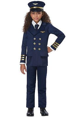 Airplane Pilot Unisex Child Costume