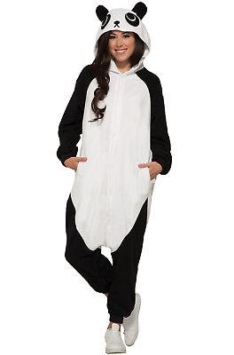 Panda One Piece Adult Costume  (Panda Costume Adult)