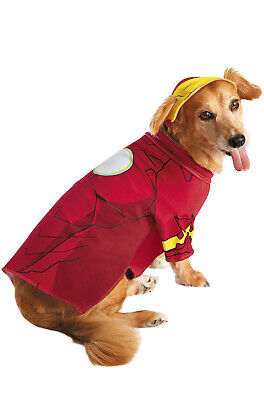 Marvel Iron Man Superhero Pet Dog Costume