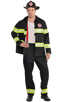 Brand New Rescue Me Fireman Firefighter Adult Costume (X-Large) - Adult Fireman Costume