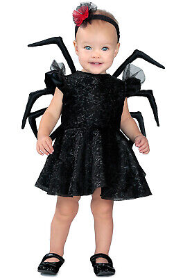 Brand New Baby Widow Spider Insect Girls Dress Toddler Costume - Spider Baby Costume