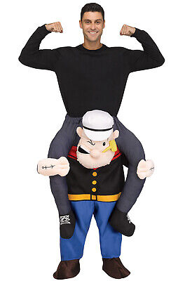 Brand New Carry Me Popeye Ride On Funny Adult Costume