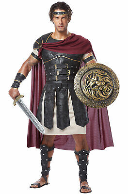 Roman Gladiator Spartan Soldier Greek Warrior Hercules Adult Costume