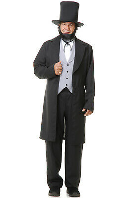 Abe Lincoln Costumes (Abe Lincoln Adult Costume)