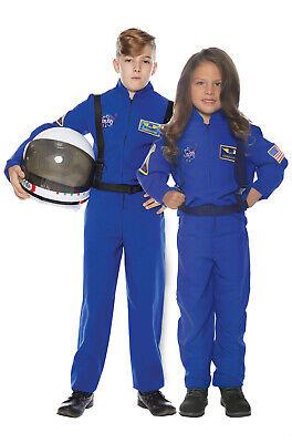 NASA Inspired Astronaut Flight Suit Child Costume Childrens Flight Suit