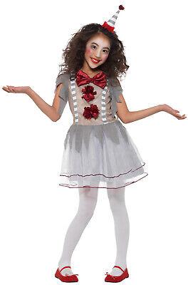 Vintage Creepy Clown Girl