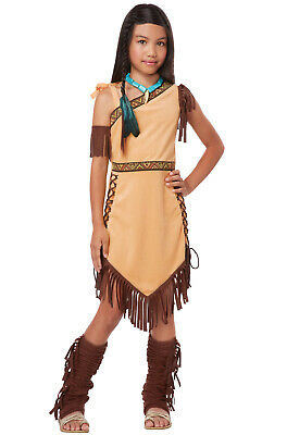 Costume Pocahontas (Brand New Indian Native American Princess Pocahontas Outfit Girls Child)