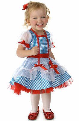 Brand New Wizard of Oz Dorothy Glitter Infant Costume - Dorothy Infant Costume